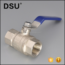 Lever handle full port female thread brass ball valve