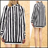 2016 Fashion Women Wear Tops Long Sleeve Stripe Casual Style clothing