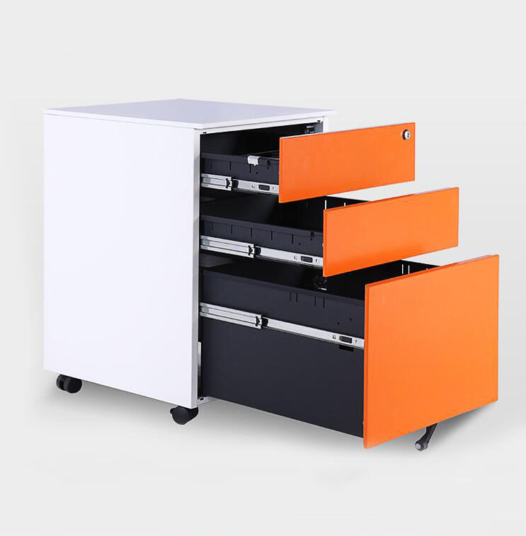 Office furniture movable storage cupboard A4 metal file cabinet