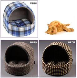 Warm indoor pet bed and cat cage