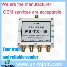 2-6G 4-way rf combiner/Power divider with SMA-F connector