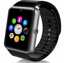 Latest Product Bluetooth Smart Watch Phone gt08 With High Chipset Mtk6260 Smart Watch Cell Phone