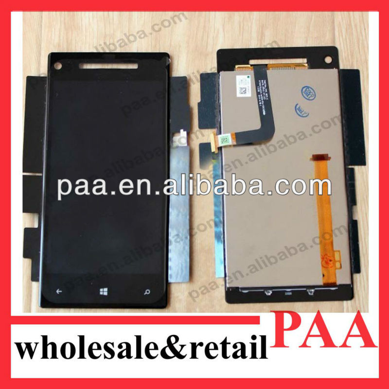 Mobile phone accessories for htc Windows 8 8x lcd digitizer