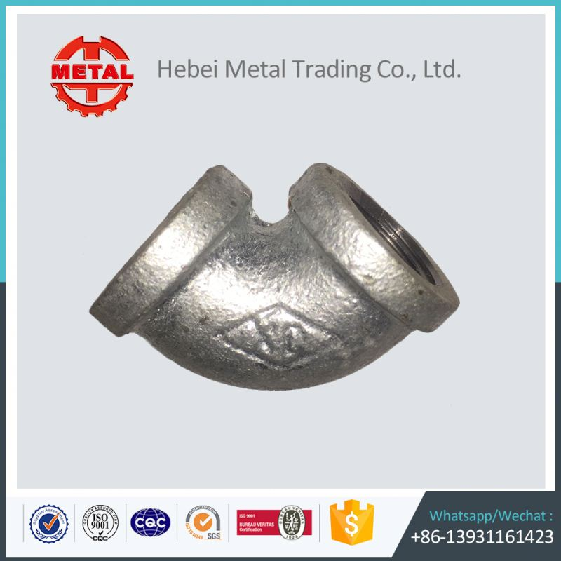 hot dipped galvanized durable malleable iron pipe fittings cleat distance saddle