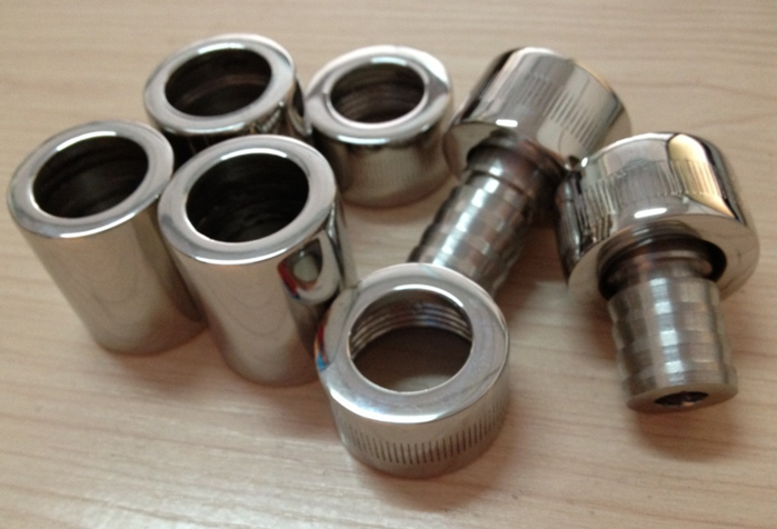 Hydraulic tube fitting stainless steel pipe metal