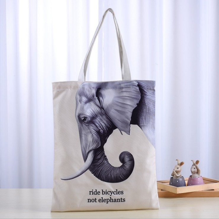 2018 New Products Fashionable Cotton Bag Shopping Bag