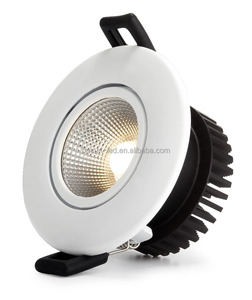 Besun Dim to warm Triac dimmable cob led downlight 7w Ip54 Norge downlight Cutout 75mm