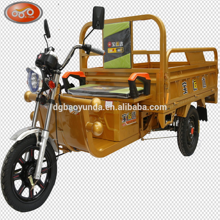 New electric cargo tricycle adults 1000w brushless three wheel motor vehicle