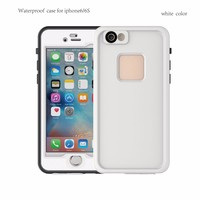 Wholesale manufacturer cell phone waterproof case water proof phone case for iphone 6