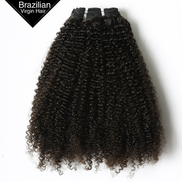 VV Qingdao Supplier Alibaba Express Afro Kinky Human Hair Brazilian Virgin Hair Weaving