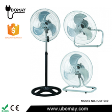 Wholesale 18 inch 3 in 1 electric stand or wall mounted oscillating fan