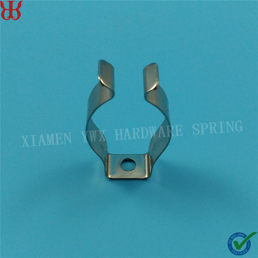 Manufacturer fastener U shape 65Mn spring steel led t8 tube mounting clips
