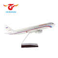 wholesale sell well airplane model new year office gift with eco friendly materials