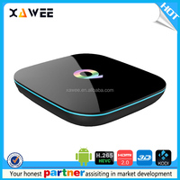 Online Wholesale Setup box Tv Wifi 2.4G Full HD 1080 Android 5.1 Internet live tv box with all Channels 2/16G