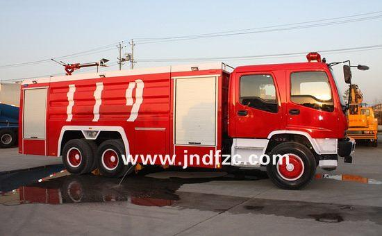 6*4 HOWO lager fire engine for sale