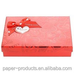 2016 Luxury red Wedding Favor Gift Paper Box