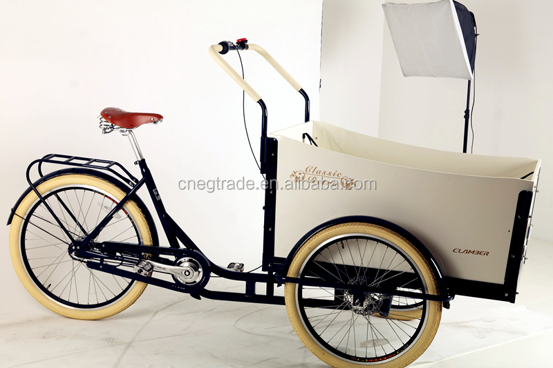 Cargo bike tricycle for passenger