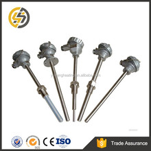 Metal sheathed thermocouple probe type k with water proof connection head