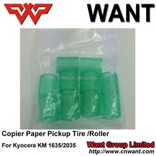copier spare parts paper pickup tire/roller manufacturer for kyocera mita km1635/2035