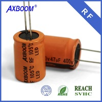 factory direct best seller 2200uf 16*30 35v Aluminum Electrolytic Capacitor for wholesale