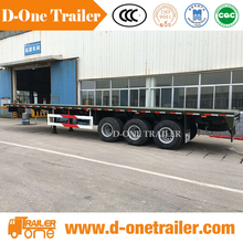 53 extendable flatbed trailers frame with containers