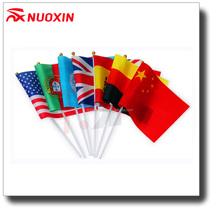 NX FLAG cheap custom made hand flags with high quality