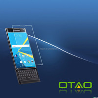 2016 OTAO New tempered glass screen protector for Blackberry PRIV with good price