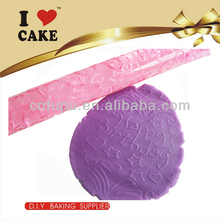 Cake Decorating Textured Acrylic Rolling Pin