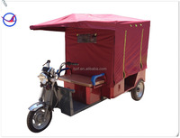 India battery operated tricycle passenger auto rickshaw 800w48v
