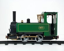1322 Mss Locomotive-Gauge 0 Green Model Toys,