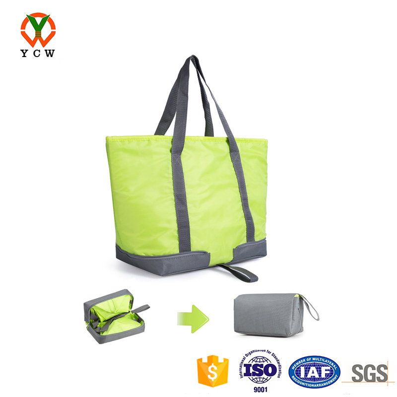 wholesale collapsible grocery insulated outdoor picnic tote cooler lunch bag
