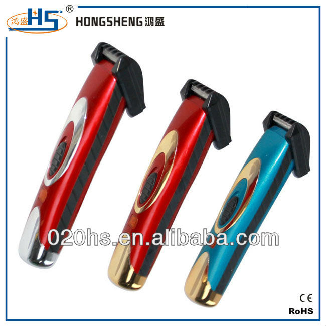 rechargeable personal hair or sideburn trimmer shaver