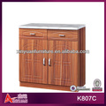 K807C cheap modern small carved beech indian kitchen cabinets