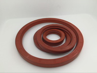 Custom size silicone flywheel oil seal/silicone seal/silicone gasket
