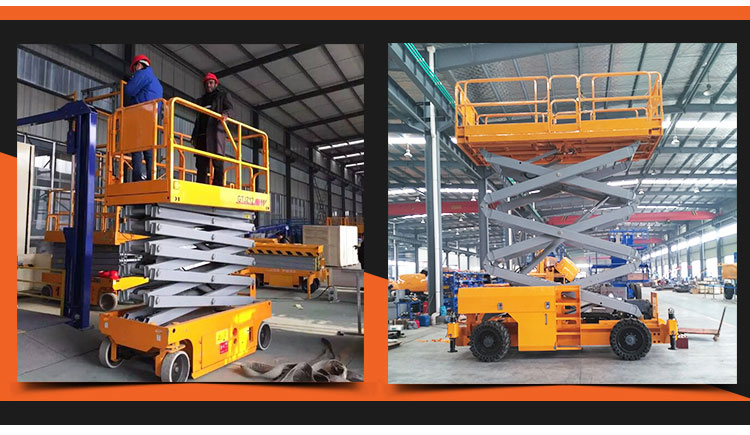Automatic hydraulic electric scissor lift equipment price