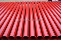 Concrete pump pipe ST52 DN125 4.5mm 3M(concrete pump parts, bend, pipe, clamp, reducer, piston, cylinder, wearing plate, vavles)