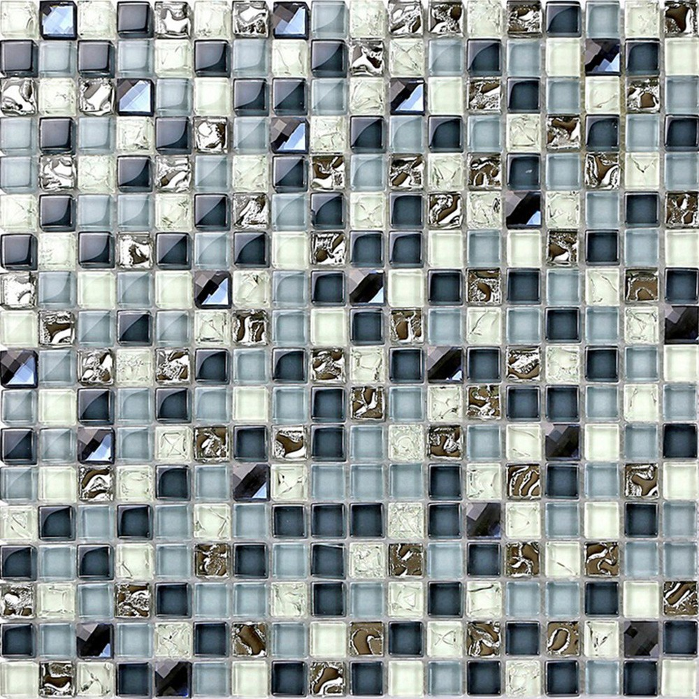 Foshan Cheap Crystal Glass Mosaic Wall Tile