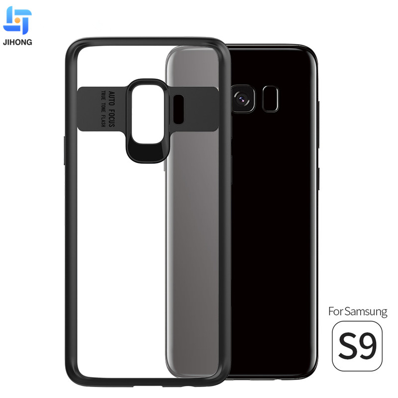 2018 bulk buy from china clear tpu pc 2 in 1 hybrid protective mobile case phone cover for Samsung Galaxy S9 Case