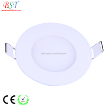 china manufacturer 2018 led ceiling panel light recessed 6w 12w 18w round ,square led ceiling panel