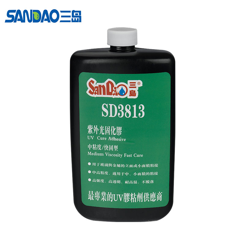 SD3322 UV Chemicals UV Glue for bonding the Glass to Metal