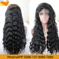 Free Shipping Human Hair Lace Wig 100 Indian Virgin Hair Deep Wave Lace Front Wigs And Full Lace Wig In Stock