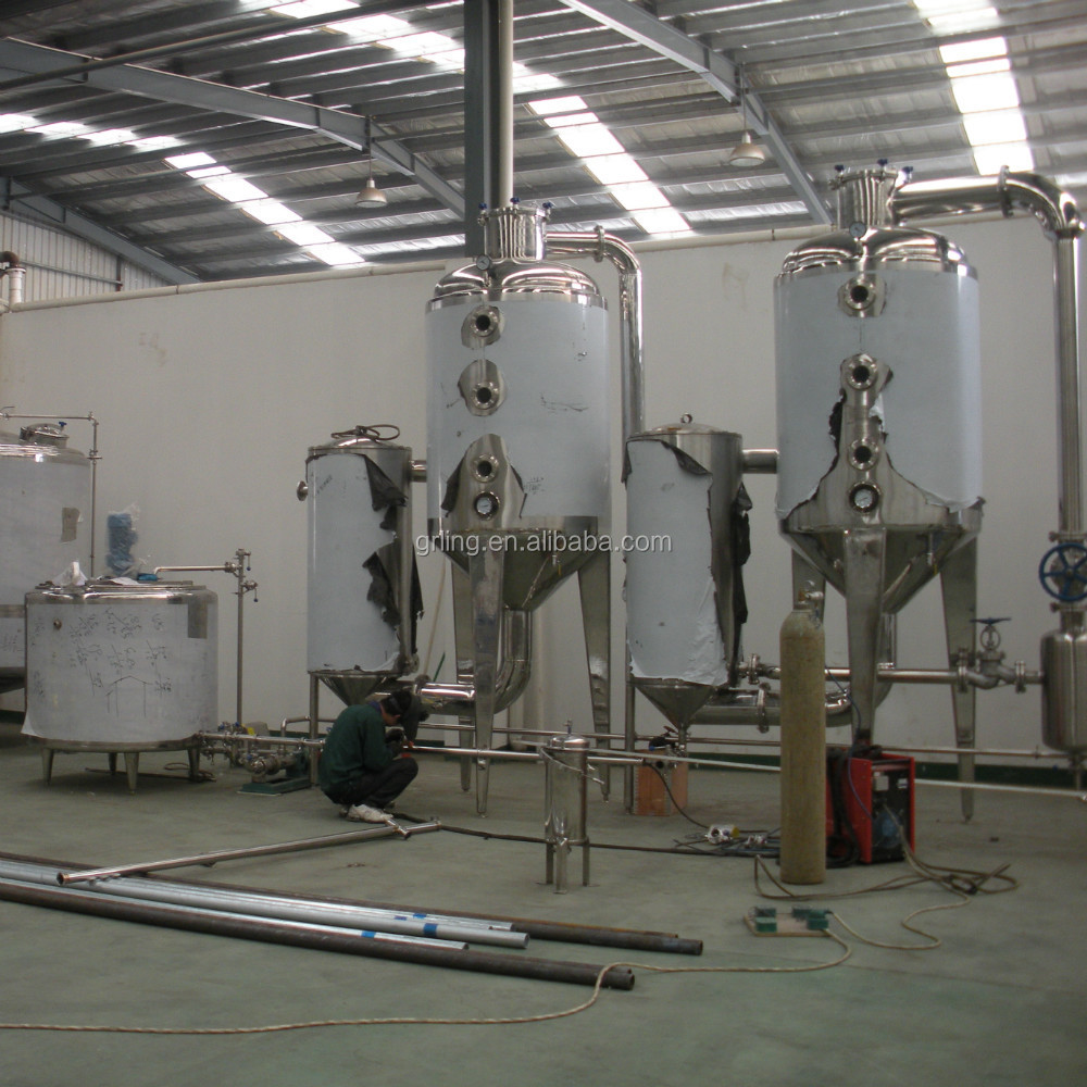 Herbal extraction liquid pharmaceutical concentration evaporation equipment
