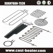 Electric heating element for steamer