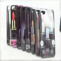 2013 new products IMD cell phone accessory with lipstick printing case for apple ipad P-IPH5TPU0161