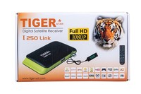 HD Digital Tiger IPTV Box Satellite Receiver With Internet Connection