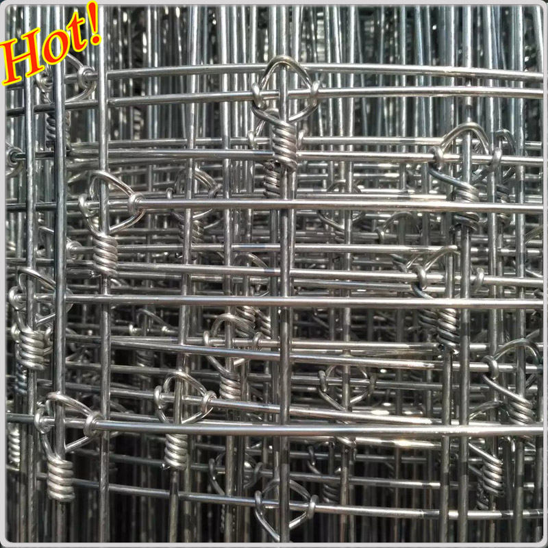 Galvanized Steel Deer Fence