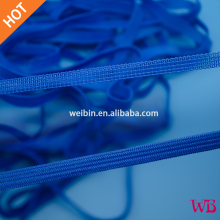 7mm Blue Elastic Rubber Band, respirator Band, elastic strap supplier