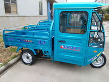 Manufacturer sell electric hybrid power tricycle for cargo