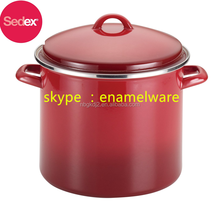 hot sale 26cm Casserole Pot/ 8/10qt enamel stock pot