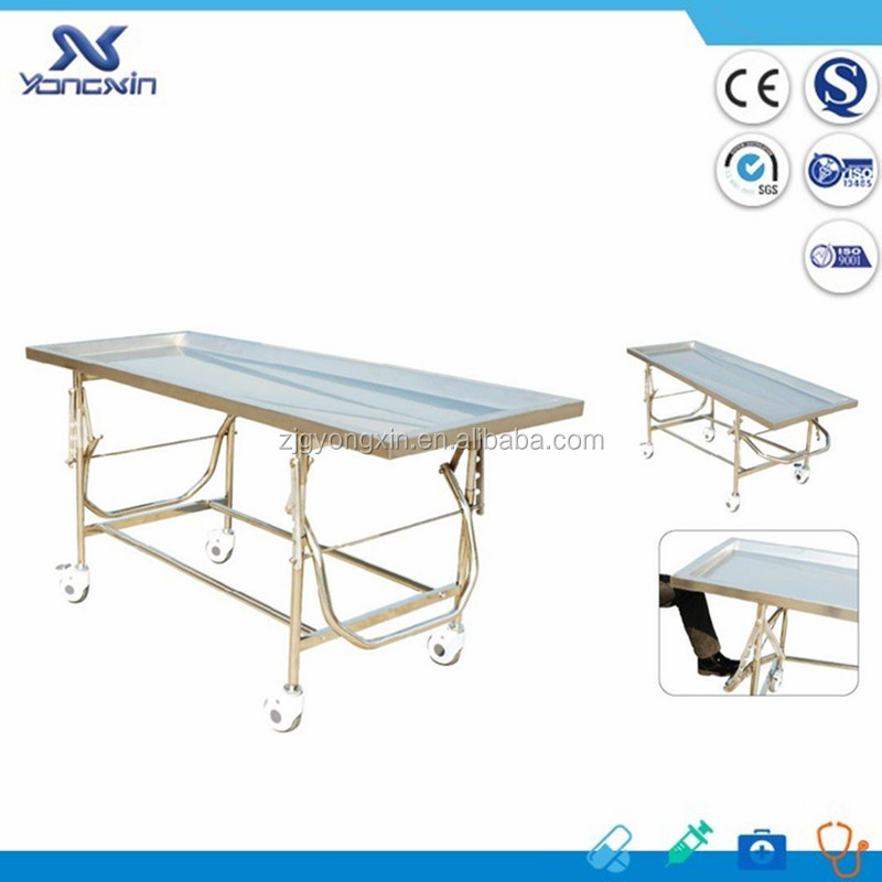 YXZ-D-F6 Funeral Embalming Table/Autopsy table/Mortuary table